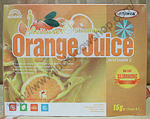 leisure 18 slimming orange juice