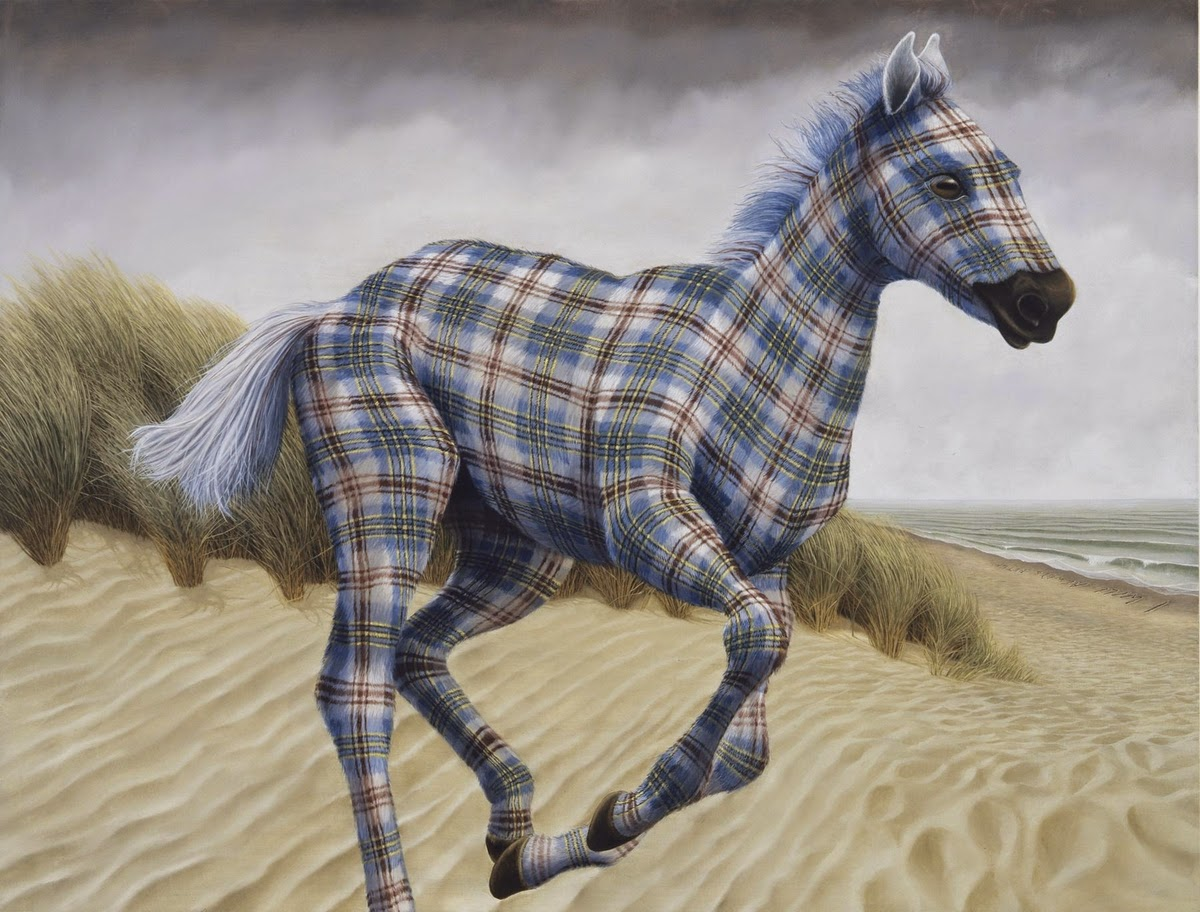 01-Sean-Landers-Animals-Coat-of-paint-in-Place-of-a-Coat-of-Fur-Paintings-www-designstack-co