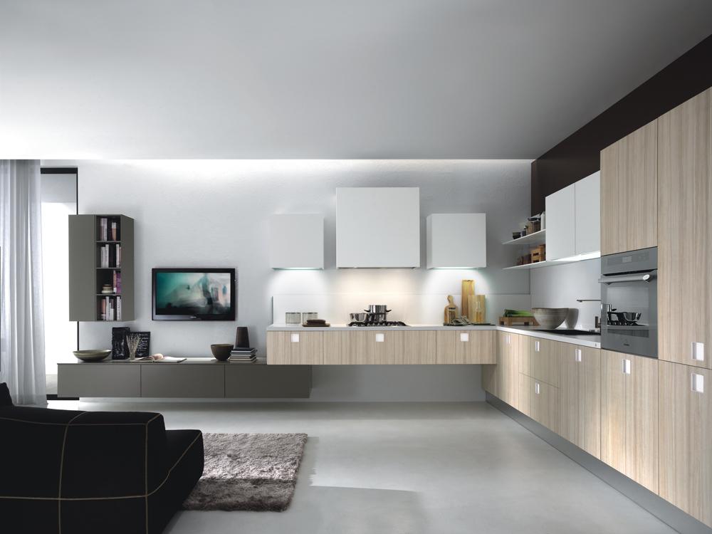 Tiradores con luces que personalizan la cocina cocinas - Tipos de loseta para cocina ...