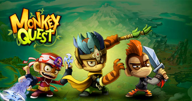 play monkey quest game