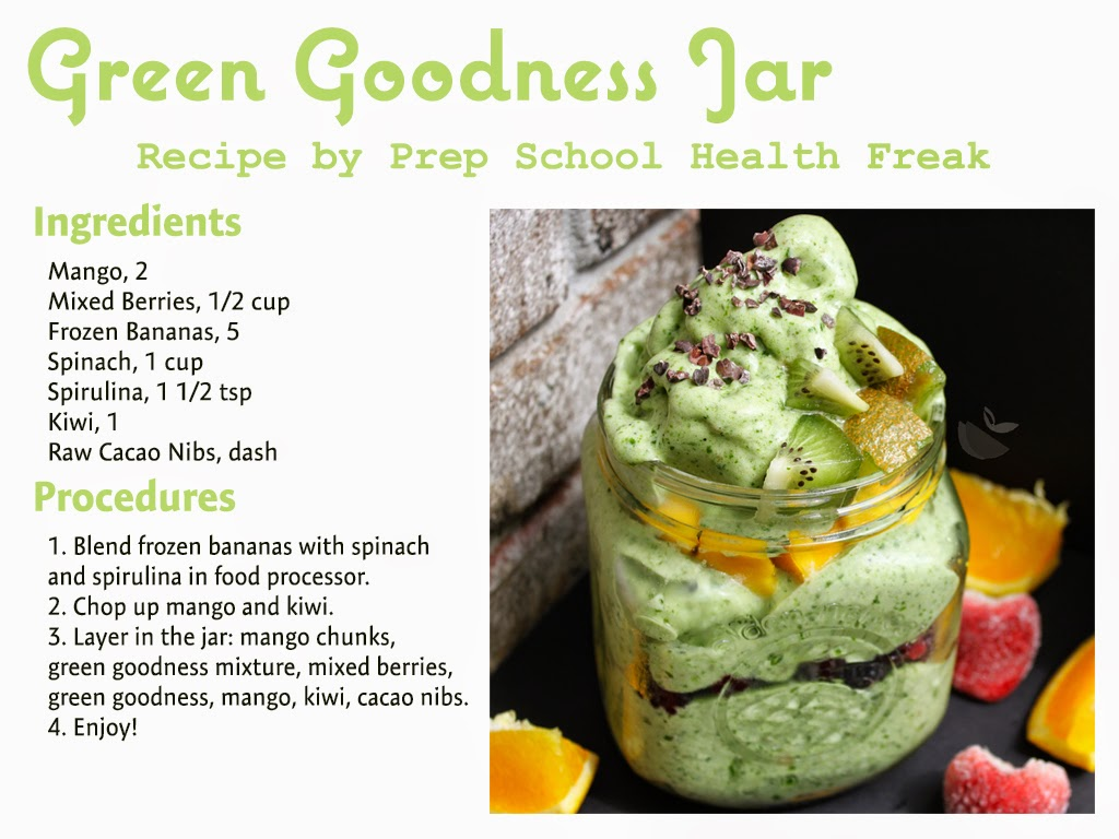 raw vegan spinach spiraling ice cream made with bananas topped with a lot of fruit