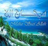 Subhanallah, Maha Suci Allah