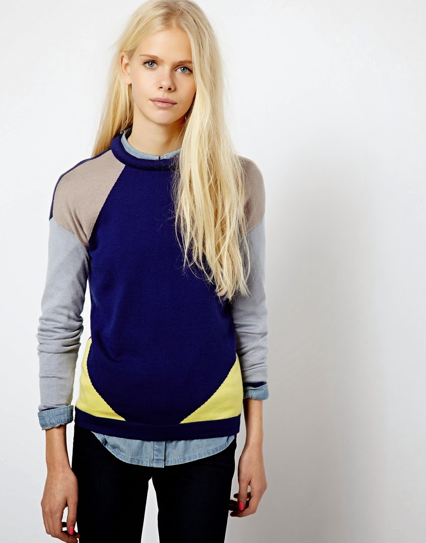 esprit blue jumper