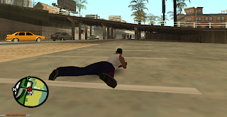 Animação Deitar-se Para Atirar Para GTA San Andreas