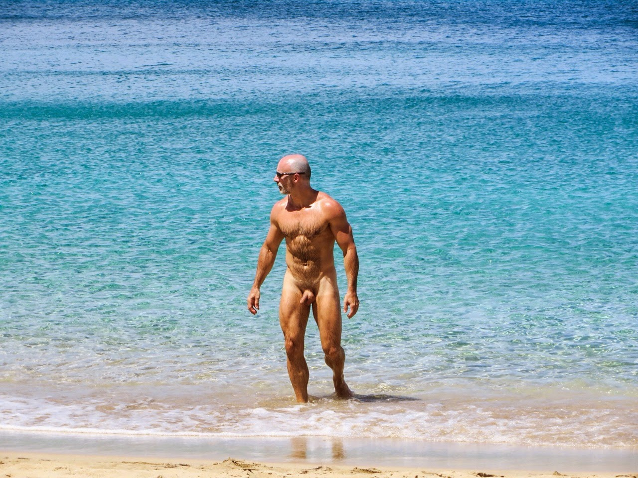 from Gauge beach daddy naked love