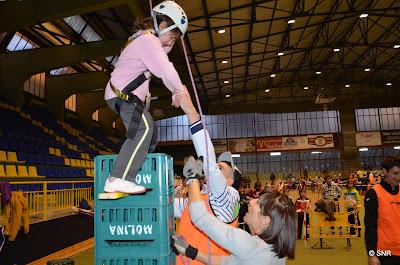 Actividades predeportivas,escalada, viking sport ocio en el pabellon