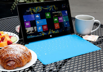 Windows 8 Surface at Lunch: Intelligent Computing