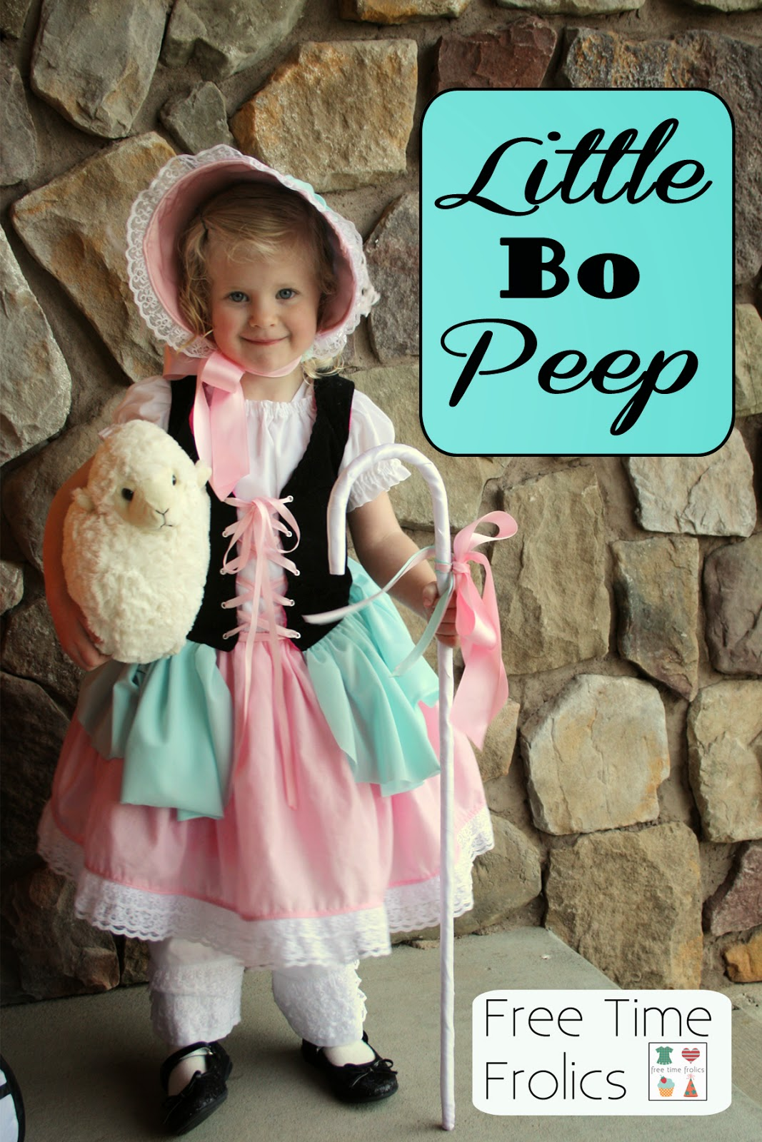 Little Bo Peep Costume Inspiration www.freetimefrolics.com