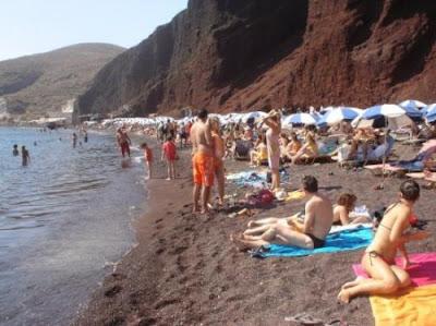 islas griegas santorini playa