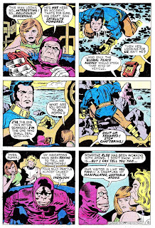 Omac v1 #7 dc bronze age comic book page art by Jack Kirby