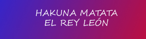 Canción de Hakuna Matata