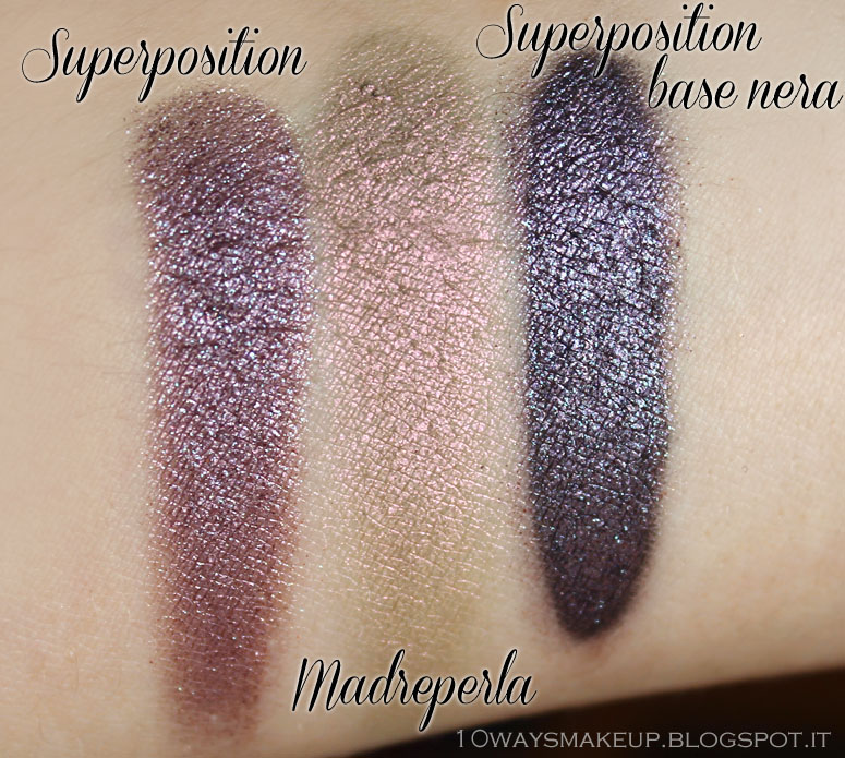 Nabla Cosmetics Genesis Superposition swatch
