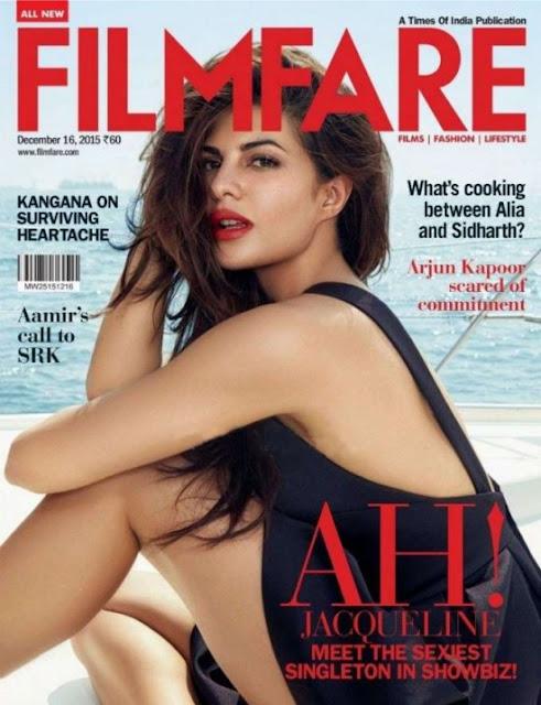 Jaqueline Fernandez Filmfare India December 2015