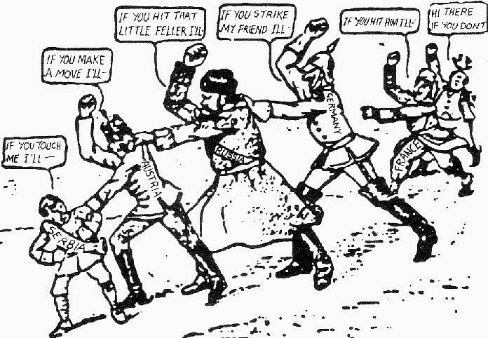 konsekvenser av andre verdenskrig