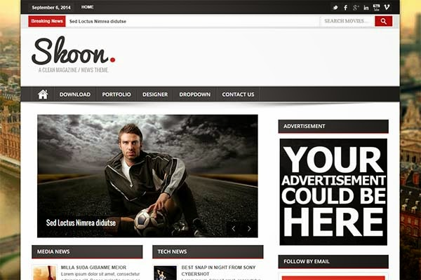 shoon-free-blogger-templates