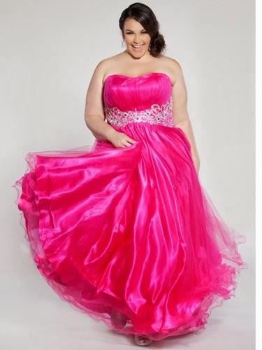 Hermosos Vestidos de fiesta para mujeres gorditas