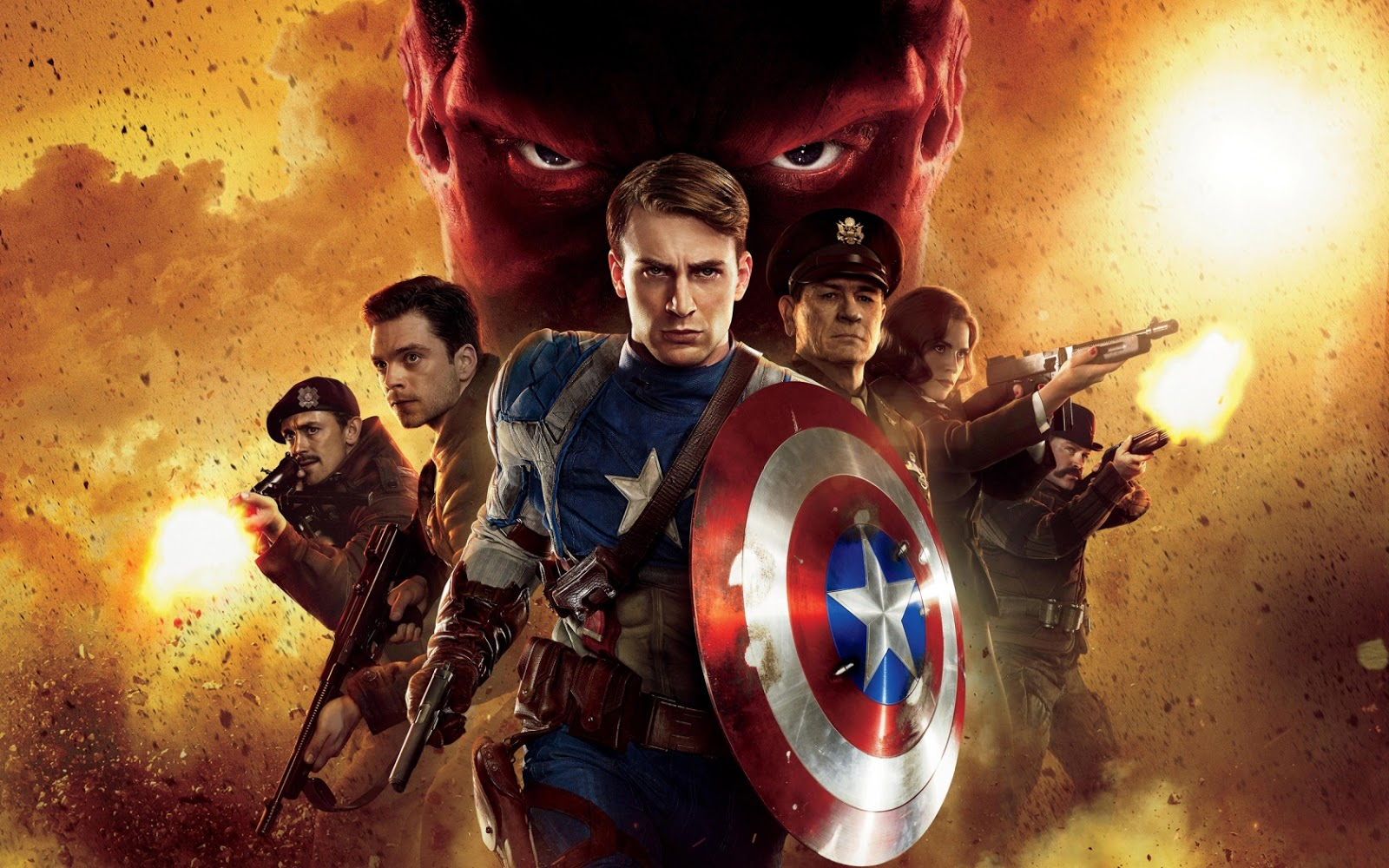 First Avenger Captain America Wallpapers HD