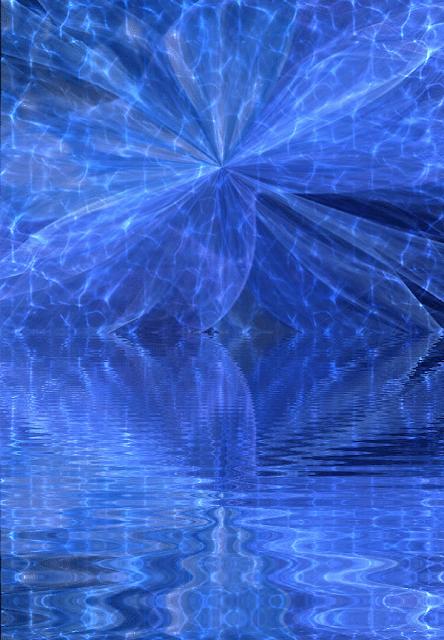 A Healing in Blue