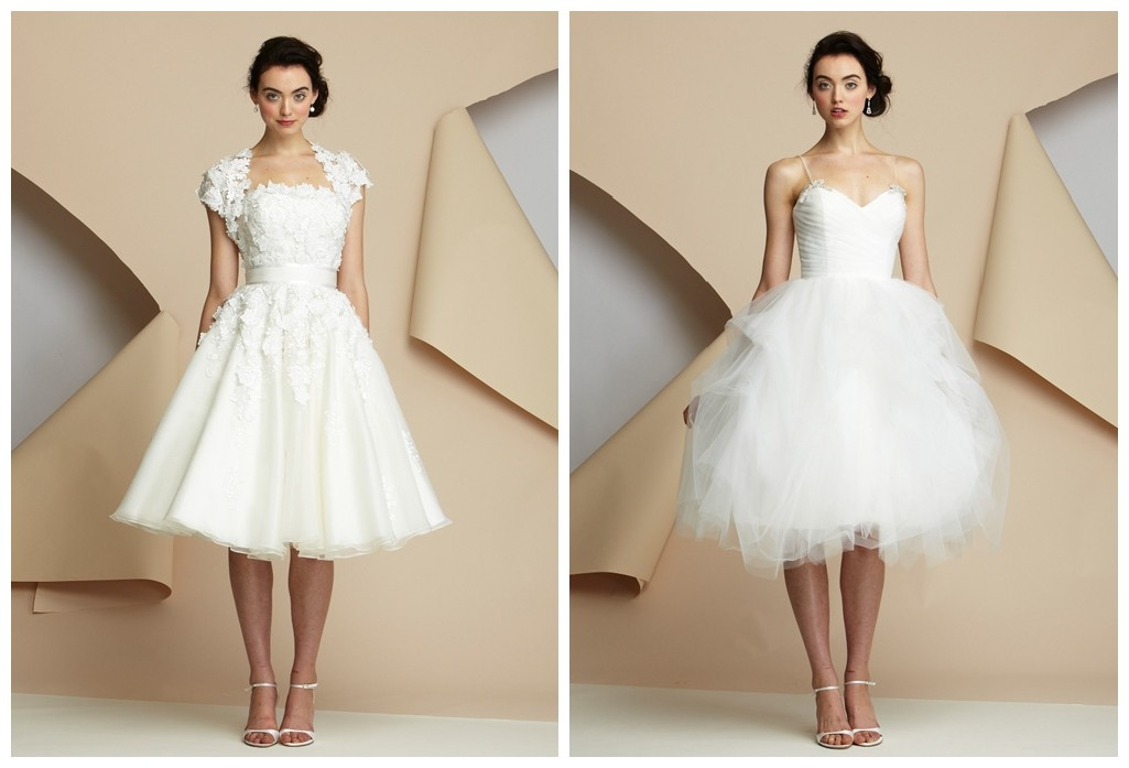 Short Wedding Dresses For Winter