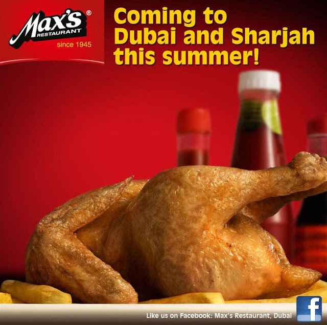 Max's Restaurant to open in Dubai and Sharjah September 2011