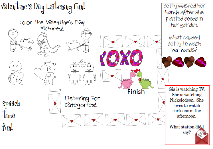 my valentine's day story telling & writing guide, Ideas