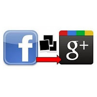 Import Data Contacts from Facebook to Google Plus