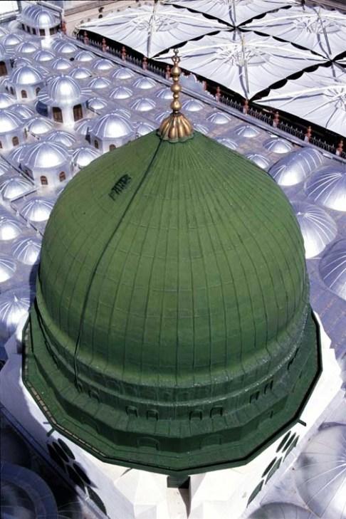 Rindu Masjid Ada Apa Dengan Kubah Hijau Masjid Nabawi Bagian 1