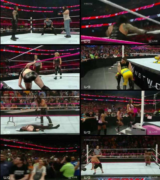 WWE Monday Night Raw 5th Oct 2015 HDTV 480p