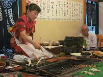 Japanese sukiyaki style restaurant, Kobe, Japan