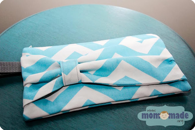 Bow Zipper Pouches on Sale at Mom-Made