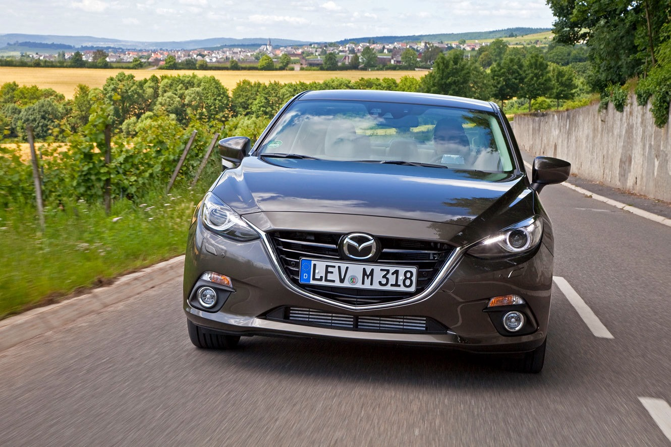 2014 Mazda3 Sedan: New Gallery with 42 High-Res Photos [Updated]