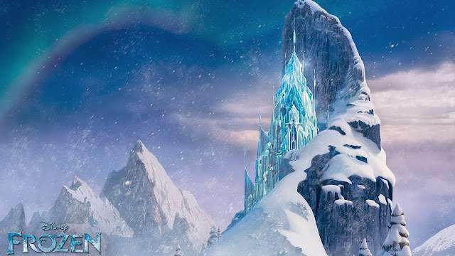 icecastle in frozen wallpapers hd