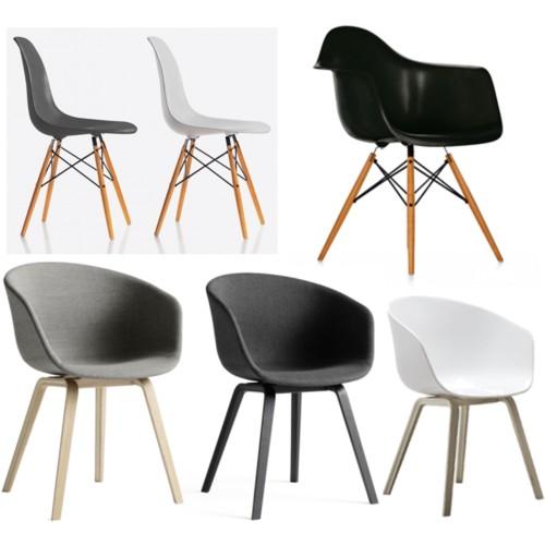 Nordisk interiør inspirasjon: fine stoler