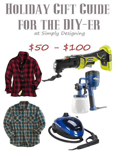 Holiday Gift Guide for the DIY-er | $50 - $100 | #giftguide #diy #christmas #holiday