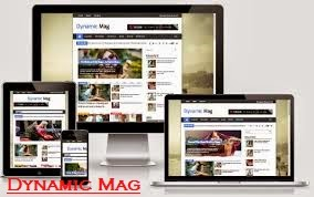 Dynamic+Mag+template+for+Blogger