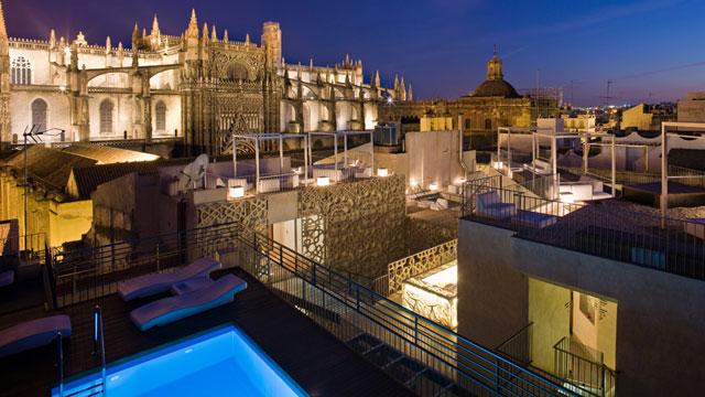 El portal de susana c cteles con encanto y vistas en el - Terraza hotel eme ...
