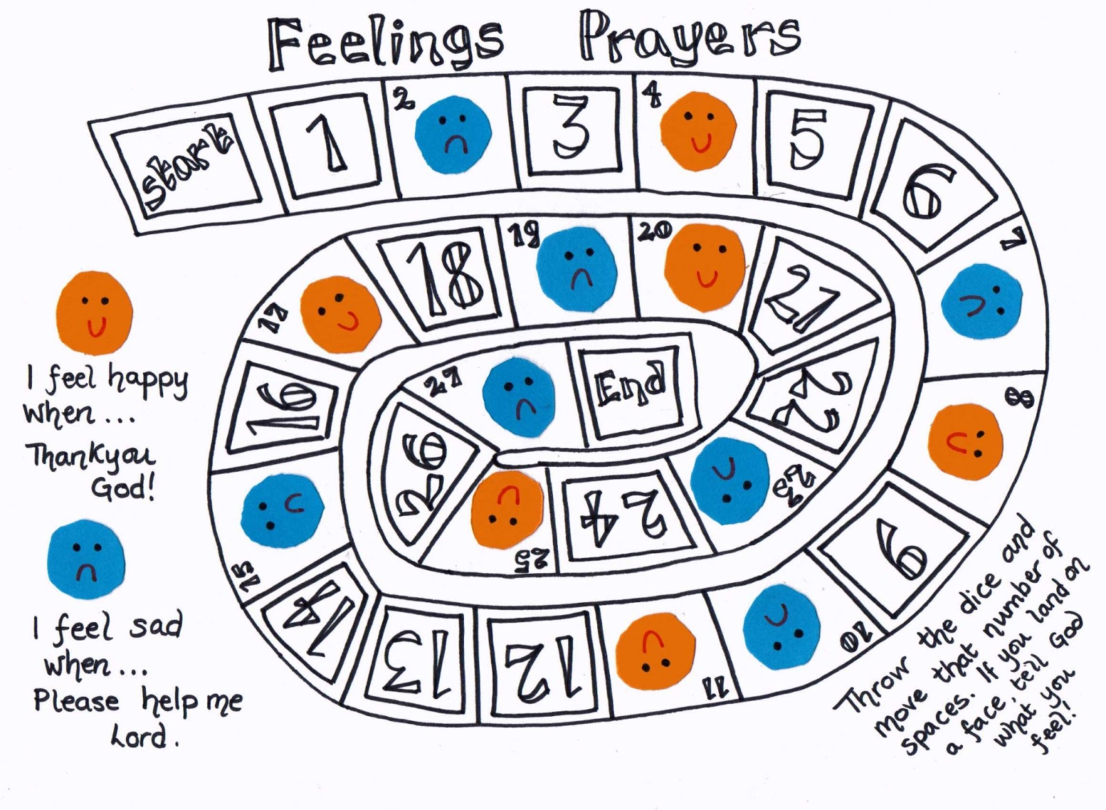 Prayer games for adults