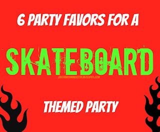 skateboard party, skateboarding birthday party, boys party theme, bmx party
