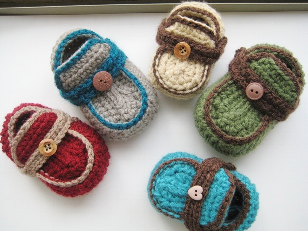 Baby Booties Free Crochet Pattern Moccasins : Crochet Dreamz: Boys Moccasins Crochet Baby Booties ...