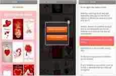 San Valentín 2014: tarjetas postales para Android y iOS
