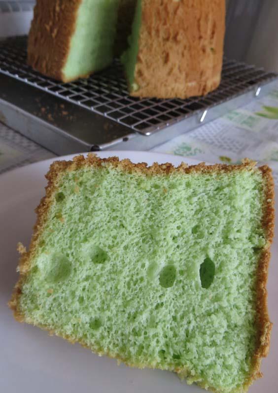 Nancy's Kitchen: Pandan Chiffon Cake