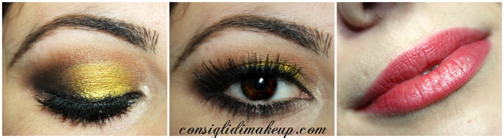 make up con sparkling party palette shiseido  swatches recensione