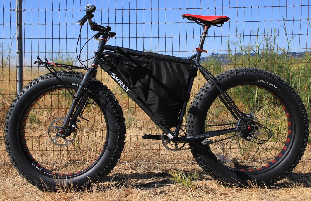 Monkey Ride Tyler S Rohloff Equipped Surly Moonlander Fat Bike