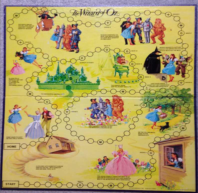 my pop cultured life game time the wizard of oz board game review