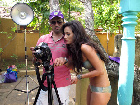 Kingfisher Swimsuit Calendar 2012 Making1 - The making of the Kingfisher Swimsuit Calendar 2012