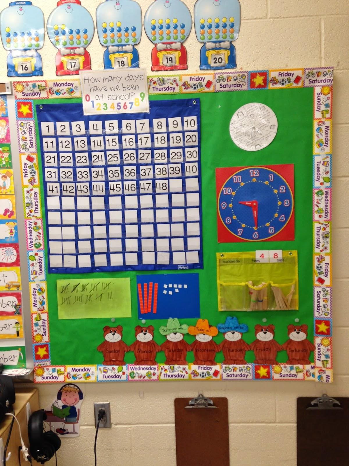 Kindergarten Calendar Work : Little miss glamour goes to kindergarten calendar