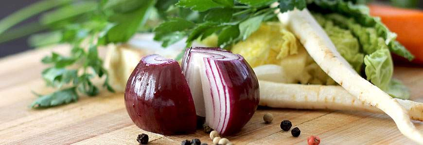 Sliced Onion For Salad