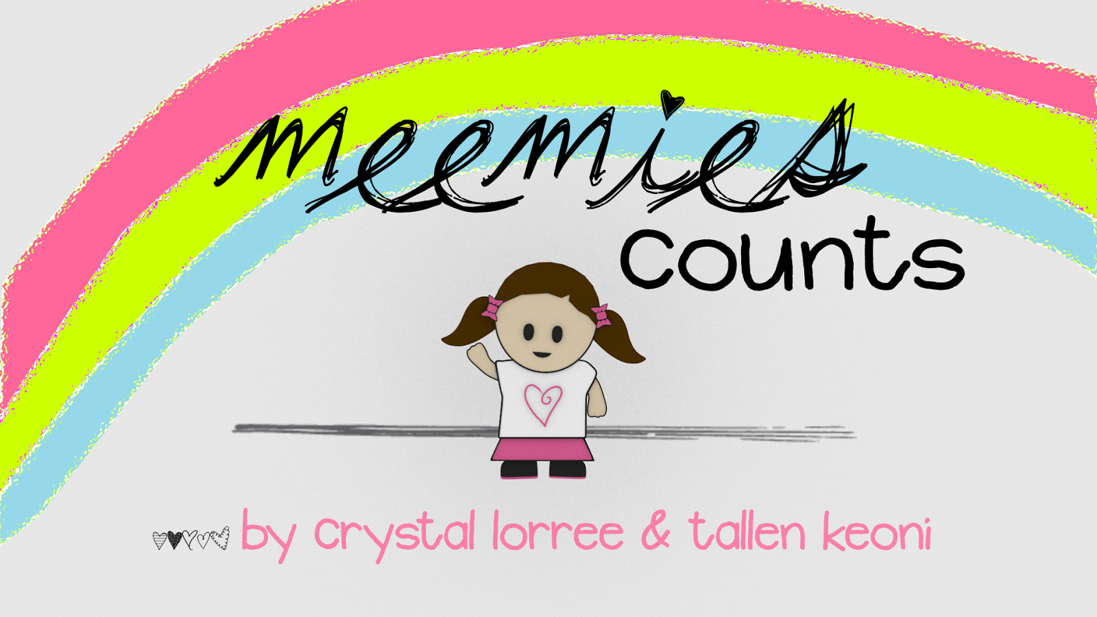 AUTHORS BOOK: Meemies Counts $0.99 - for iPad