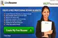 LiveResume: hacer Curriculum Vitae en línea y exportarlo a Word ó pdf