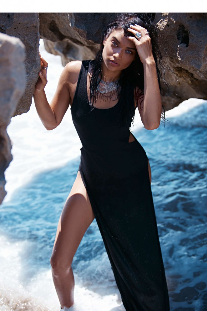 Shanina Shaik stuns for the Free People 'Gold Coast' Lookbook 2015